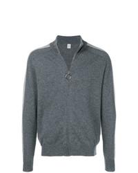 Jersey con cremallera en gris oscuro de Eleventy