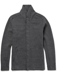 Jersey con cremallera en gris oscuro de Nike