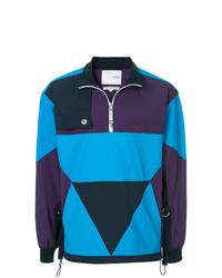 Jersey con cremallera en multicolor de Yoshiokubo