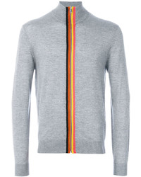 Jersey con cremallera gris de Paul Smith