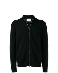 Jersey con cremallera negro de Dondup