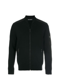 Jersey con cremallera negro de Neil Barrett