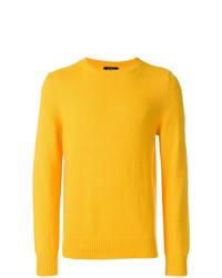 Jersey con cuello circular amarillo de A.P.C.