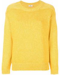 Jersey con cuello circular amarillo de Closed