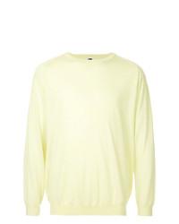Jersey con cuello circular amarillo de H Beauty&Youth
