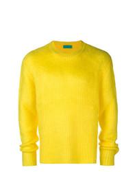 Jersey con cuello circular amarillo de Paura