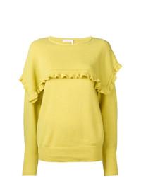 Jersey con cuello circular amarillo de See by Chloe