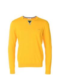 Jersey con cuello circular amarillo de Sun 68
