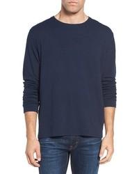 Jersey con cuello circular azul marino de Zachary Prell