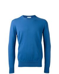 Jersey con cuello circular azul de Ballantyne