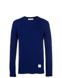 Jersey con cuello circular azul de Department 5