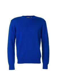 Jersey con cuello circular azul de Rossignol