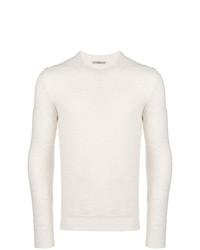 Jersey con cuello circular blanco de Nuur