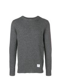 Jersey con cuello circular en gris oscuro de Department 5