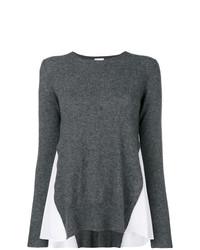 Jersey con cuello circular en gris oscuro de Dondup