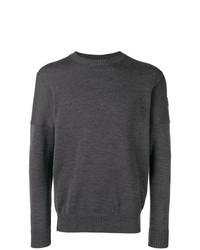 Jersey con cuello circular en gris oscuro de Paul & Shark