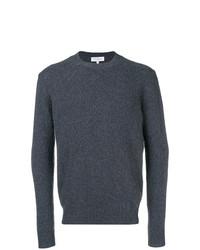 Jersey con cuello circular en gris oscuro de Salvatore Ferragamo