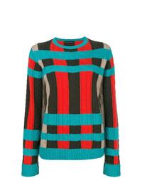 Jersey con cuello circular en multicolor de Etro