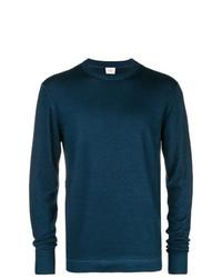Jersey con cuello circular en verde azulado de Peuterey