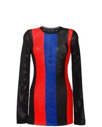 Jersey con cuello circular estampado en multicolor de Proenza Schouler