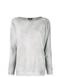 Jersey con cuello circular gris de Avant Toi