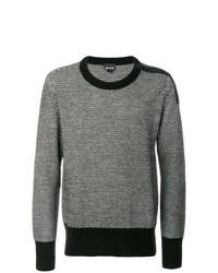 Jersey con cuello circular gris de Just Cavalli