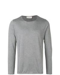 Jersey con cuello circular gris de Laneus