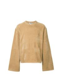 Jersey con cuello circular marrón claro de H Beauty&Youth