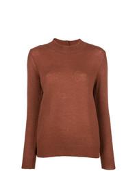 Jersey con cuello circular marrón de A.P.C.