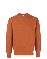 Jersey con cuello circular naranja de E. Tautz