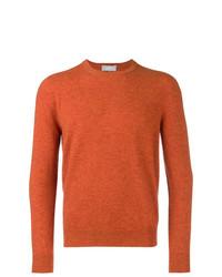 Jersey con cuello circular naranja de Entre Amis