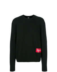 Jersey con cuello circular negro de Calvin Klein 205W39nyc