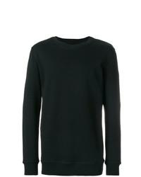 Jersey con cuello circular negro de Damir Doma