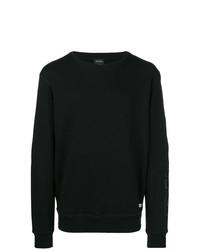 Jersey con cuello circular negro de Diesel