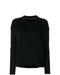 Jersey con cuello circular negro de Etro