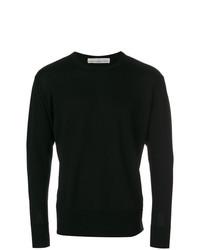 Jersey con cuello circular negro de Golden Goose Deluxe Brand