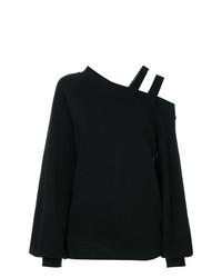 Jersey con cuello circular negro de Ioana Ciolacu