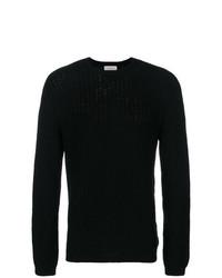 Jersey con cuello circular negro de Laneus