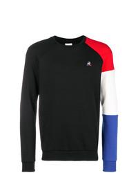 Jersey con cuello circular negro de Le Coq Sportif