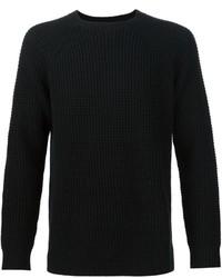 Jersey con cuello circular negro de Levi's