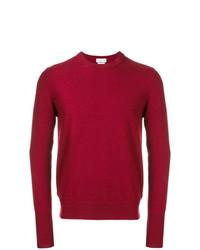 Jersey con cuello circular rojo de Ballantyne