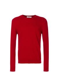 Jersey con cuello circular rojo de Pringle Of Scotland