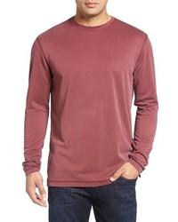 Jersey con cuello circular rosa de Bugatchi