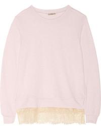 Jersey con cuello circular rosado de Clu