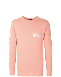 Jersey con cuello circular rosado de GUILD PRIME