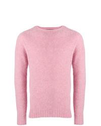 Jersey con cuello circular rosado de Howlin'