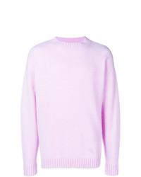 Jersey con cuello circular rosado de Laneus