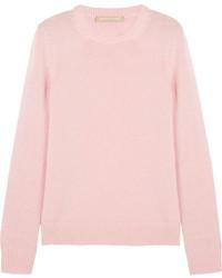 Jersey con cuello circular rosado de Michael Kors