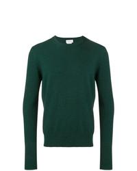 Jersey con cuello circular verde oscuro de Ballantyne