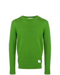 Jersey con cuello circular verde de Department 5